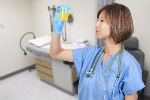 Анализ мочи на определение заболеваний