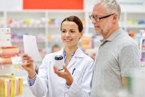 Множество антибиотиков в аптеке