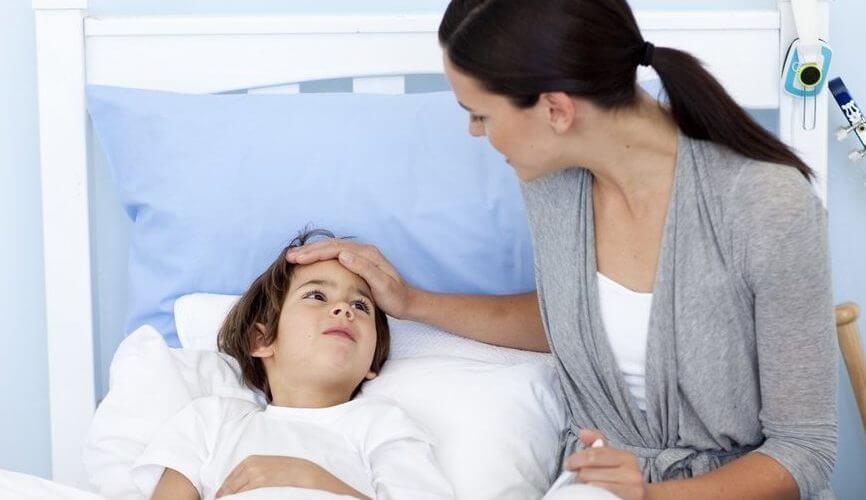 Ухудшение самочувствия у ребенка