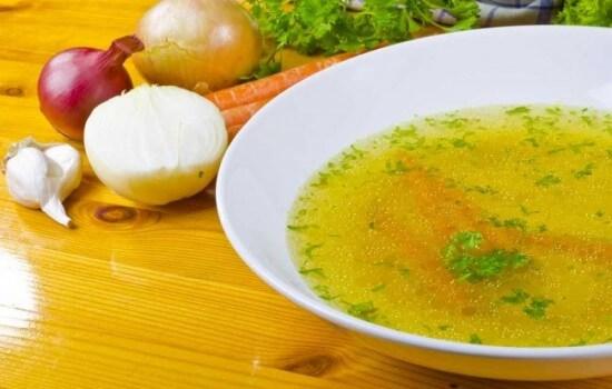 Рекомендованы супы и бульоны