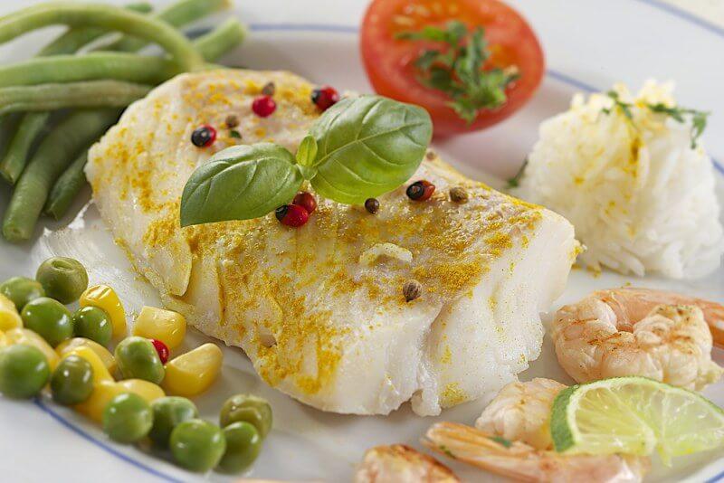 Не жирные сорта рыбы