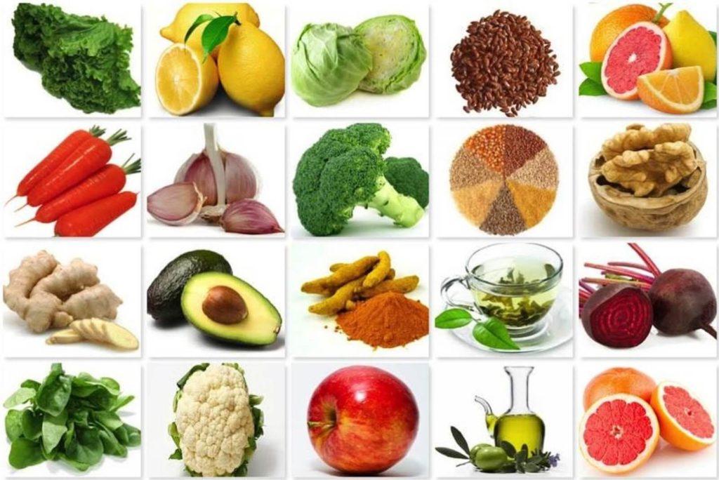Овощи и фрукты помогают выводить токсины из организма