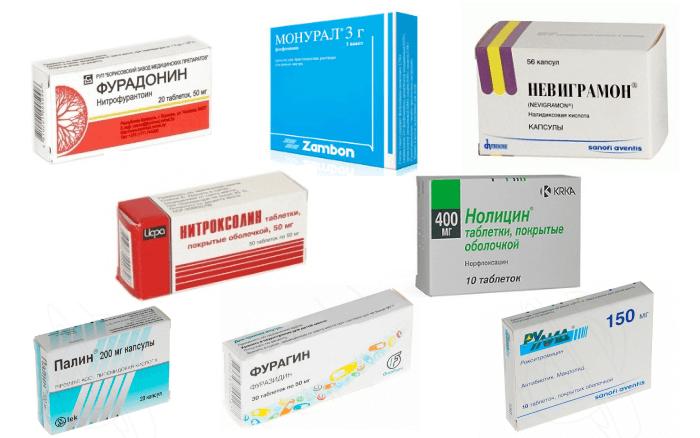 Наиболее известные средства для лечения хронической формы заболевания